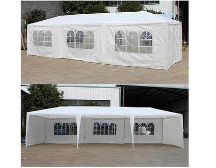 Сборка шатров с боковыми стенками