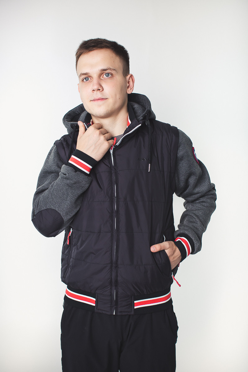 Весенняя мужская куртка - фото 3