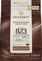 Шоколад бельгийский молочный Callebaut 33,6%, 2,5 кг