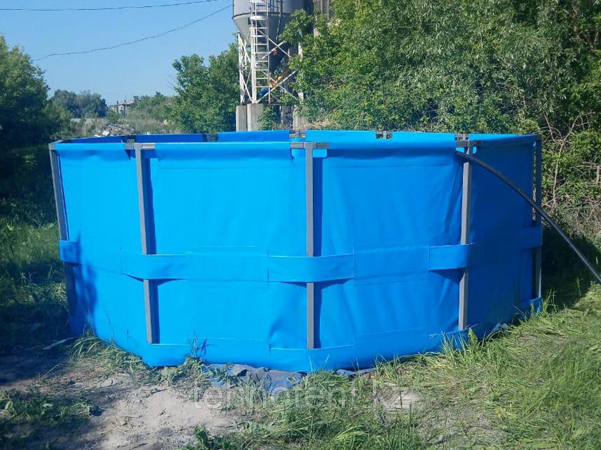 Каркасный бассейн, восьмигранник, объем 15000 литров