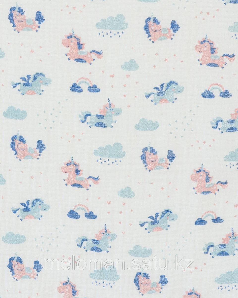 Erik: Муслиновое полотенце Единороги 120*120 - фото 3