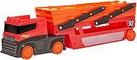 Hot Wheels: Basic. Мега-трейлер красный