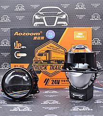 Cветодиодные би-линзы для грузовиков AOZOOM Track Trailer 3 дюйма 24V