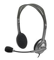 Гарнитура Logitech H111, Серый Garnitura grey, [981-000593]