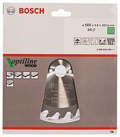 Пильный диск Optiline Wood 160мм 2608640596
