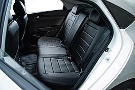 Авточехлы из экокожи Toyota Camry 50 (2012-2017) Черный