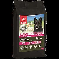 BLITZ ADULT LAMB & DUCK беззерновой корм для взр. собак Ягненок&Утка 12 кг