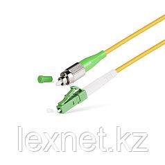 Патч Корд Оптоволоконный FC/APC-LC/APC SM 9/125 Simplex 3.0мм 1 м