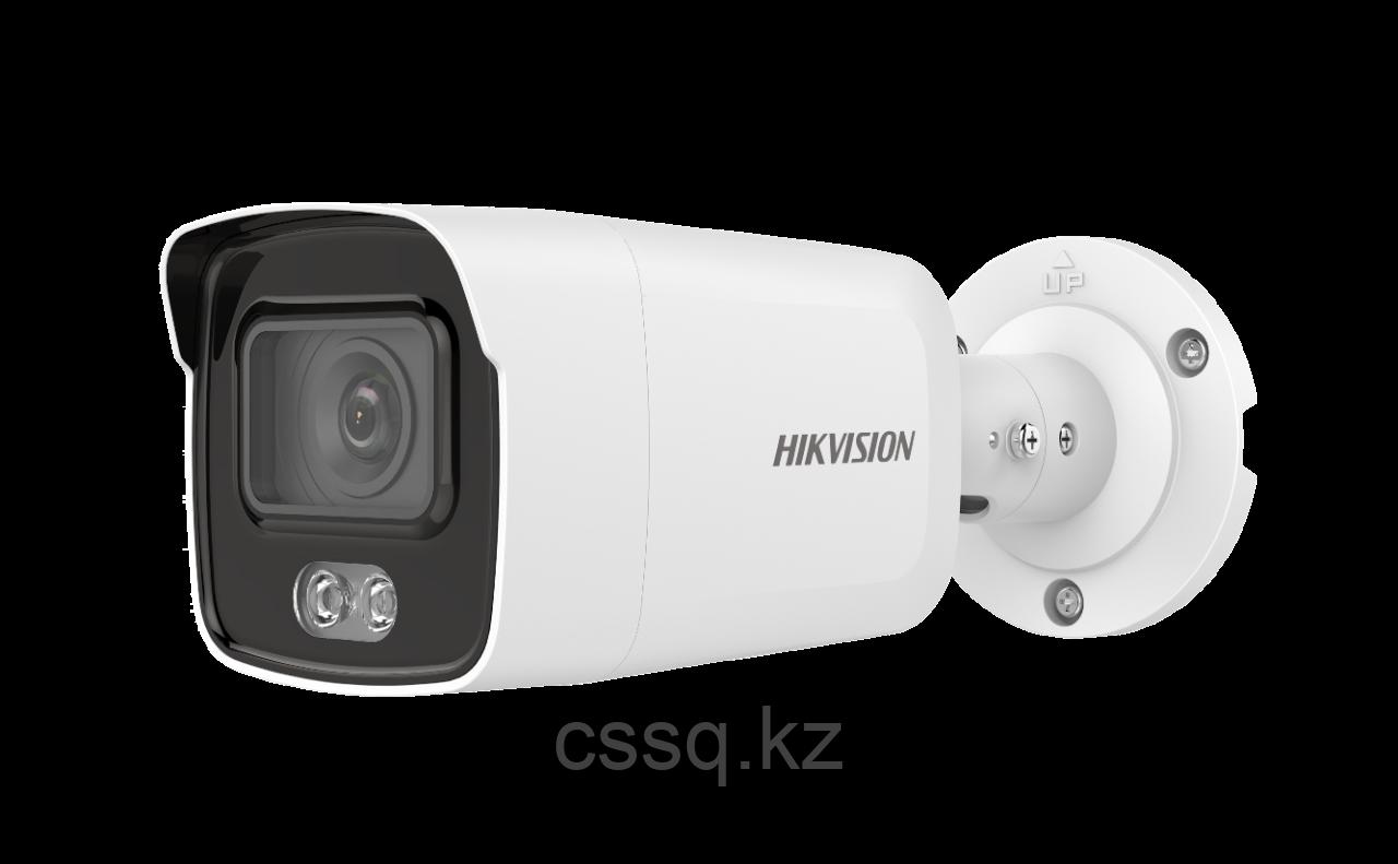 Hikvision DS-2CD2047G1-L (2.8 мм) ColorVu IP видеокамера, 4МП