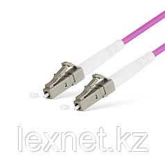 Патч Корд Оптоволоконный LC/UPC-LC/UPC MM OM4 50/125 Simplex 3.0мм 1 м