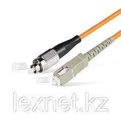 Патч Корд Оптоволоконный FC/UPC-SC/UPC MM OM2 50/125 Simplex 3.0мм 1 м