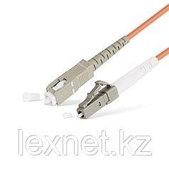 Патч Корд Оптоволоконный SC/UPC-LC/UPC MM OM2 50/125 Simplex 3.0мм 1 м