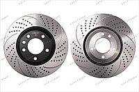 Тормозные диски Gerat DSK-F013 (ПЕРЕДНИЕ) Porsche Cayenne 955/957/958, VW Touareg I пок., Audi Q7