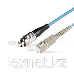 Патч Корд Оптоволоконный FC/UPC-SC/UPC MM OM3 50/125 Simplex 3.0мм 1 м