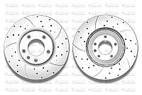 Тормозные диски Gerat DSK-F013P (ПЕРЕДНИЕ) Porsche Cayenne 955/957/958, VW Touareg I пок., Audi Q7