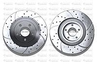 Тормозные диски Gerat DSK-F030W (ПЕРЕДНИЕ) Subaru Legacy, Outback B4/Bl, Forester Sf/Sg/Sh