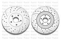 Тормозные диски Gerat DSK-F030P (ПЕРЕДНИЕ) Subaru Legacy, Outback B4/Bl, Forester Sf/Sg/Sh