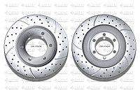 Тормозные диски Gerat DSK-F042W (ПЕРЕДНИЕ) Toyota Land Cruiser Prado 120/150, Lexus GX470