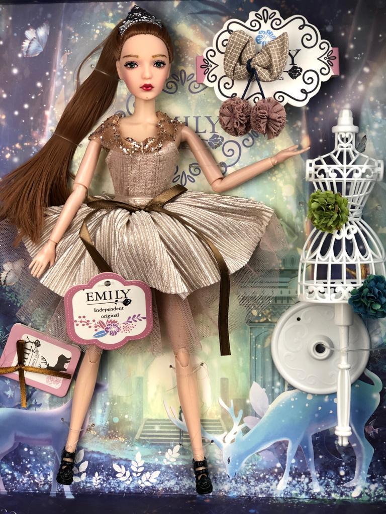 Кукла Emily, Эмили коллекция Ванильное небо, 28 см / - фото 2