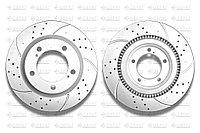 Тормозные диски Gerat DSK-F043P (ПЕРЕДНИЕ) Toyota Sequoia/Tundra II пок., Land Cruiser 200