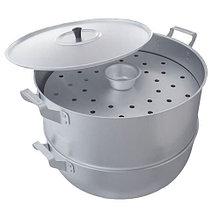 Мантоварка алюминиевая Демидовский завод МШ-018 15 л, 3 диска, диаметр 34 см