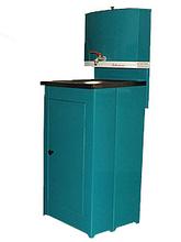 Умывальник Акватекс (без ЭВН), цвет лагуна, пластиковая мойка