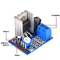 Плата усилителя звука 1 канал, 6-12В,18ВТ, TDA2030