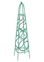 Пирамида садовая декоративная для вьющихся растений, 1,98 х 0,33 м, пирамида// Palisad