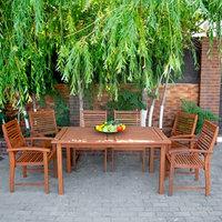 Набор садовой мебели стол + 6 стульев