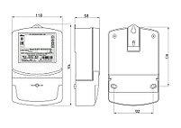 Счетчик электронный 1фаз. многотарифный с функцией PLC ОРМАН СО-Э711 ТХ P PLC IP П RS 220V 10(60)A, фото 3