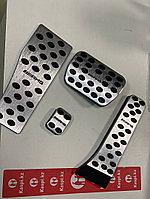 Накладки на педали на Mercedes AMG