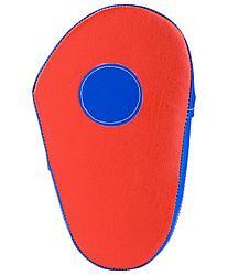 Лапы прямые, кожзам, пара, красный/синий Rusco