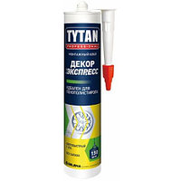 Титан клей  монтажный Экспресс ДЕКОР белый 310 мл
