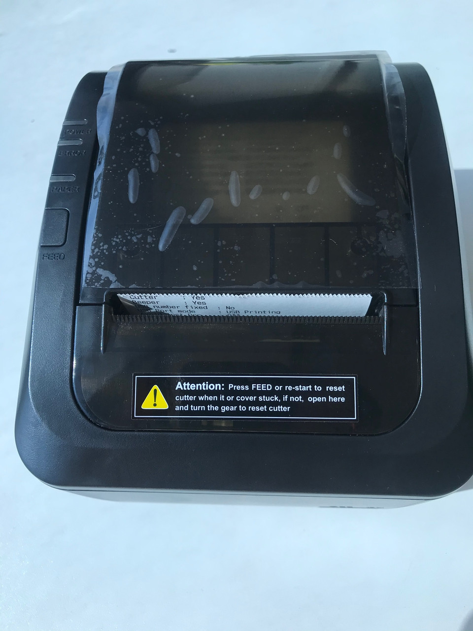Принтер чеков для общепита со звонком Xprinter D 200