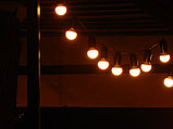 Гирлянды для кафе, 10 метров 10 ламп. Гирлянда с лампочками, гирлянда ретро, гирлянда для летней площадки, фото 6