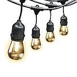 Гирлянды для кафе, 10 метров 20 ламп. Гирлянда с лампочками, гирлянда ретро, гирлянда для летней площадки, фото 3