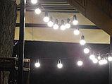 Гирлянды для кафе, 10 метров 20 ламп. Гирлянда с лампочками, гирлянда ретро, гирлянда для летней площадки, фото 7