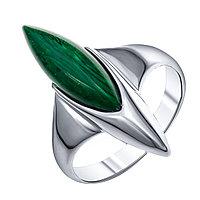 Кольцо Darvin серебро с родием, малахит синт., классика 920281313aa размеры - 18 19
