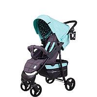"""Коляска детская """"KIRA STAR"""" RA055 Aruba Blue, от 6 месяцев до 3-х лет, усиленная стальная рама"""