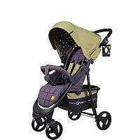 """Коляска детская """"KIRA STAR"""" RA055 Greek Olive, от 6 месяцев до 3-х лет, усиленная стальная рама"""