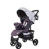 """Коляска детская """"KIRA STAR"""" RA055 Soft Grey, от 6 месяцев до 3-х лет, усиленная стальная рама"""