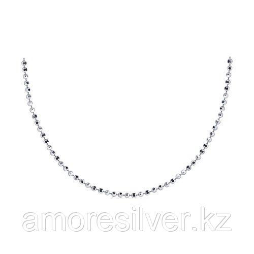 Колье SOKOLOV серебро с родием, без вставок 94074525 размеры - 50