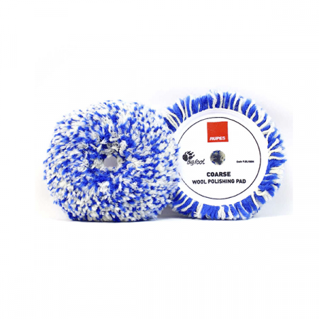 Полировальный диск из шерсти (ротационный) Rupes (синий, 150/200 мм)