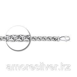 Браслет SOKOLOV серебро с родием, без вставок, бисмарк 965140904 размеры - 18 19 20 23