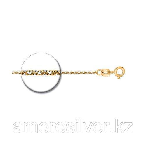 Колье SOKOLOV серебро с позолотой, без вставок 94074444 размеры - 40