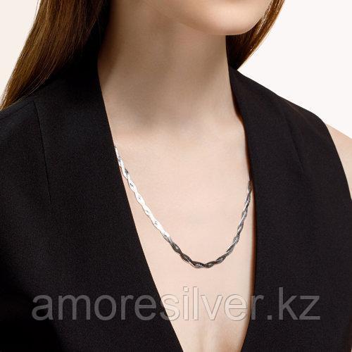 Колье SOKOLOV серебро с родием, без вставок 94074418 размеры - 40 45 50 55 - фото 2