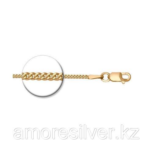 Цепь SOKOLOV серебро с позолотой, без вставок, панцирная 988020402 размеры - 50