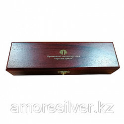 Серьги Красная Пресня серебро без покрытия, без вставок,  Футляр 1 столовая ложка