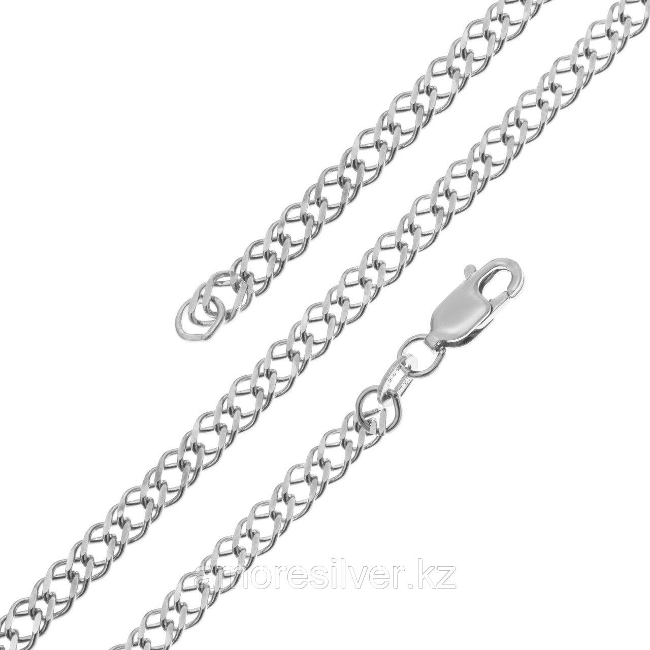 Красцветмет серебро с родием, без вставок, ромб двойной НЦ 22-076-3-070 размеры - 60 70
