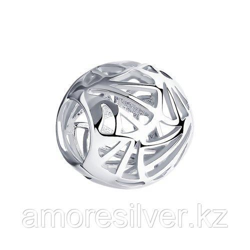 Подвеска SOKOLOV серебро с родием, без вставок 94032638